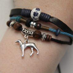 windhonden armband