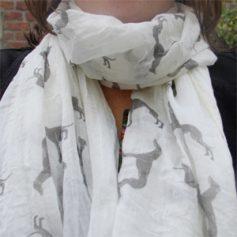 windhonden sjaal