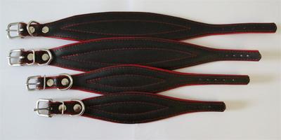 windhonden halsband rood