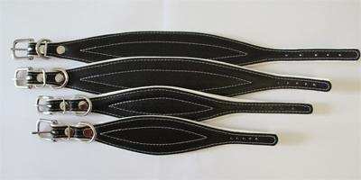 windhonden halsband wit